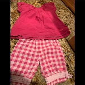 Naartjie 2 pc. 18/24 months SO CUTE!!! Gingham